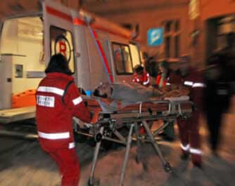 Ambulancier Ambulance Archambeau Le Bugue